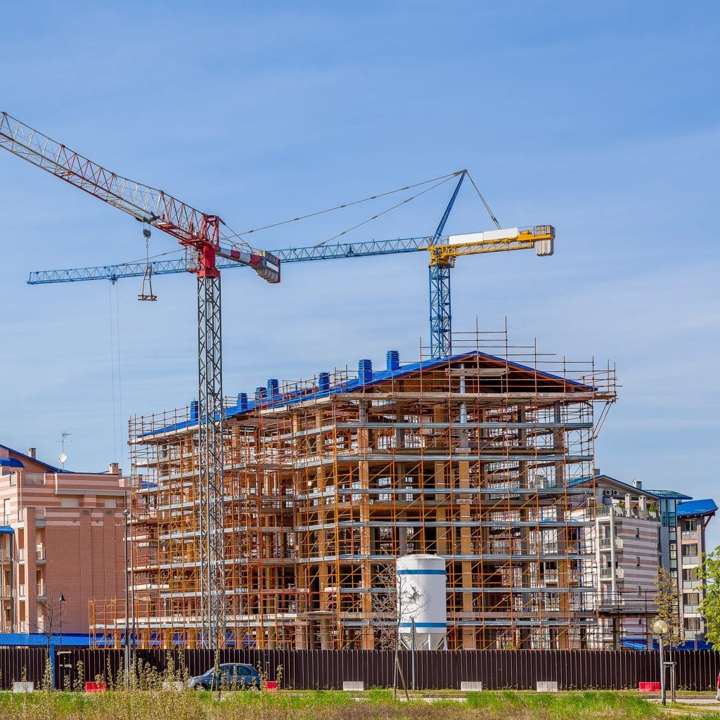 Construction on Residential building
